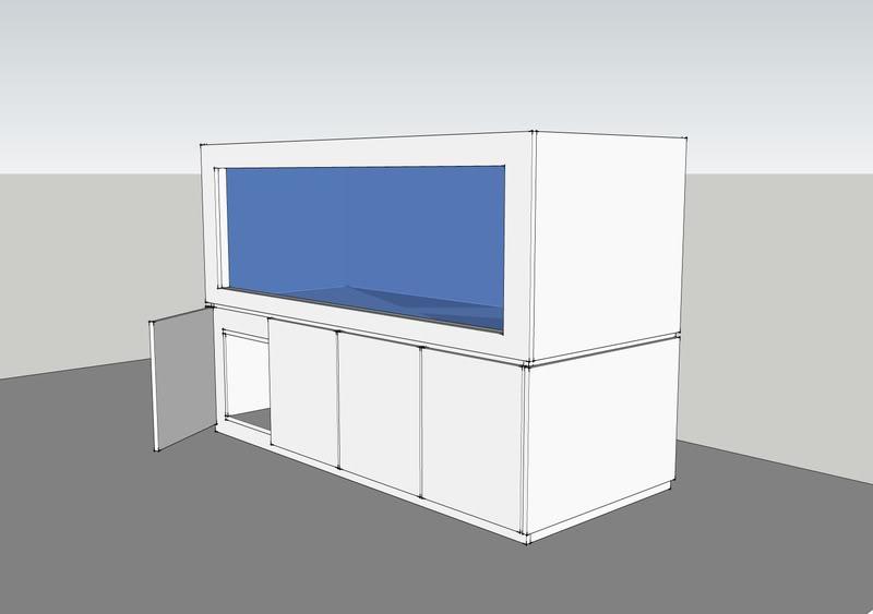 Design Aquarium Kast : Tips voor zelfbouw aquarium meubel