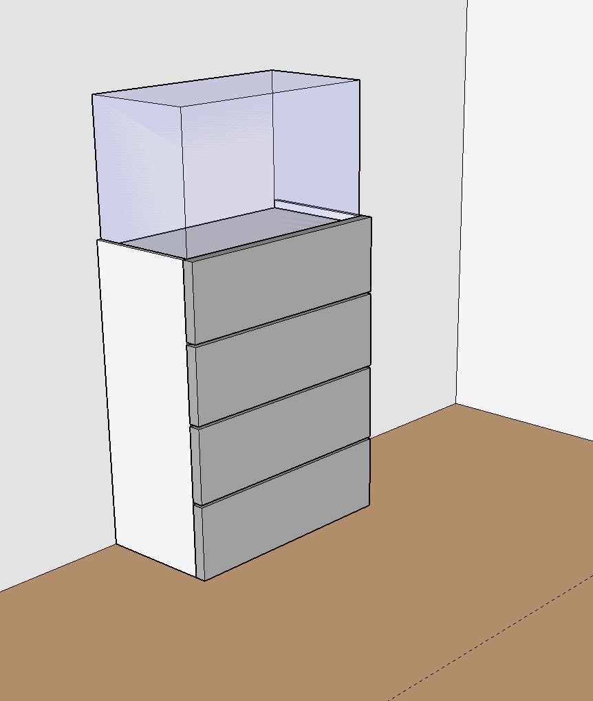 Iets Nieuws DIY meubel (steigerbuizen, MDF en steigerhout) | @HS95